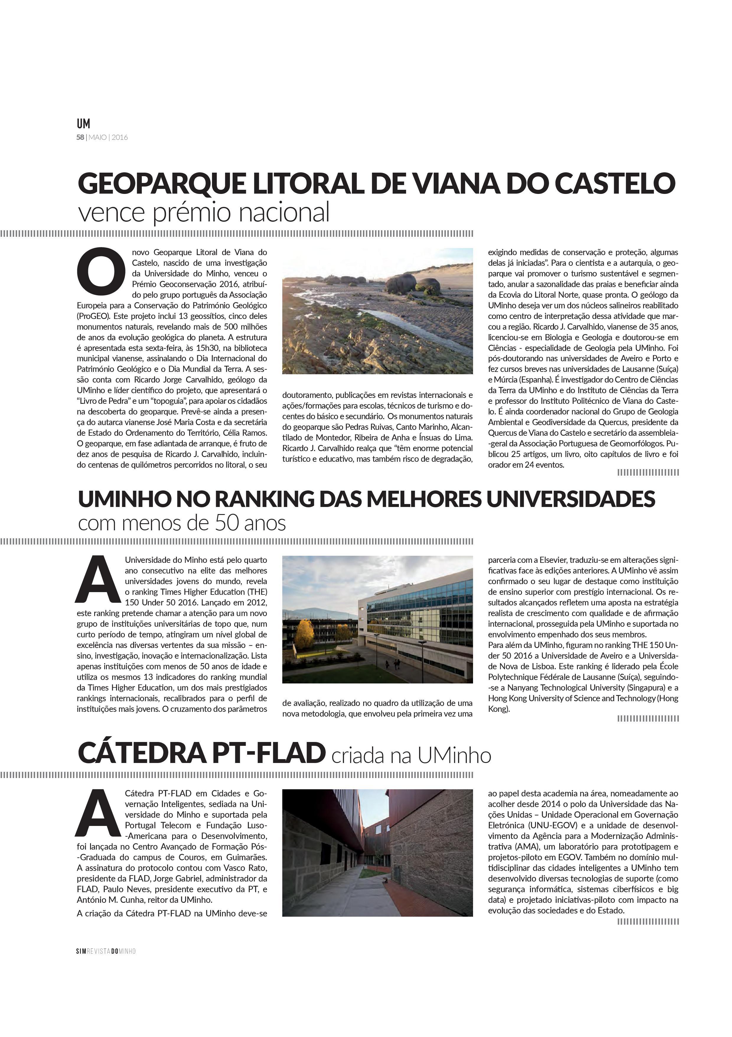 Geoparque Litoral de Viana do Castelo vence prémio nacional