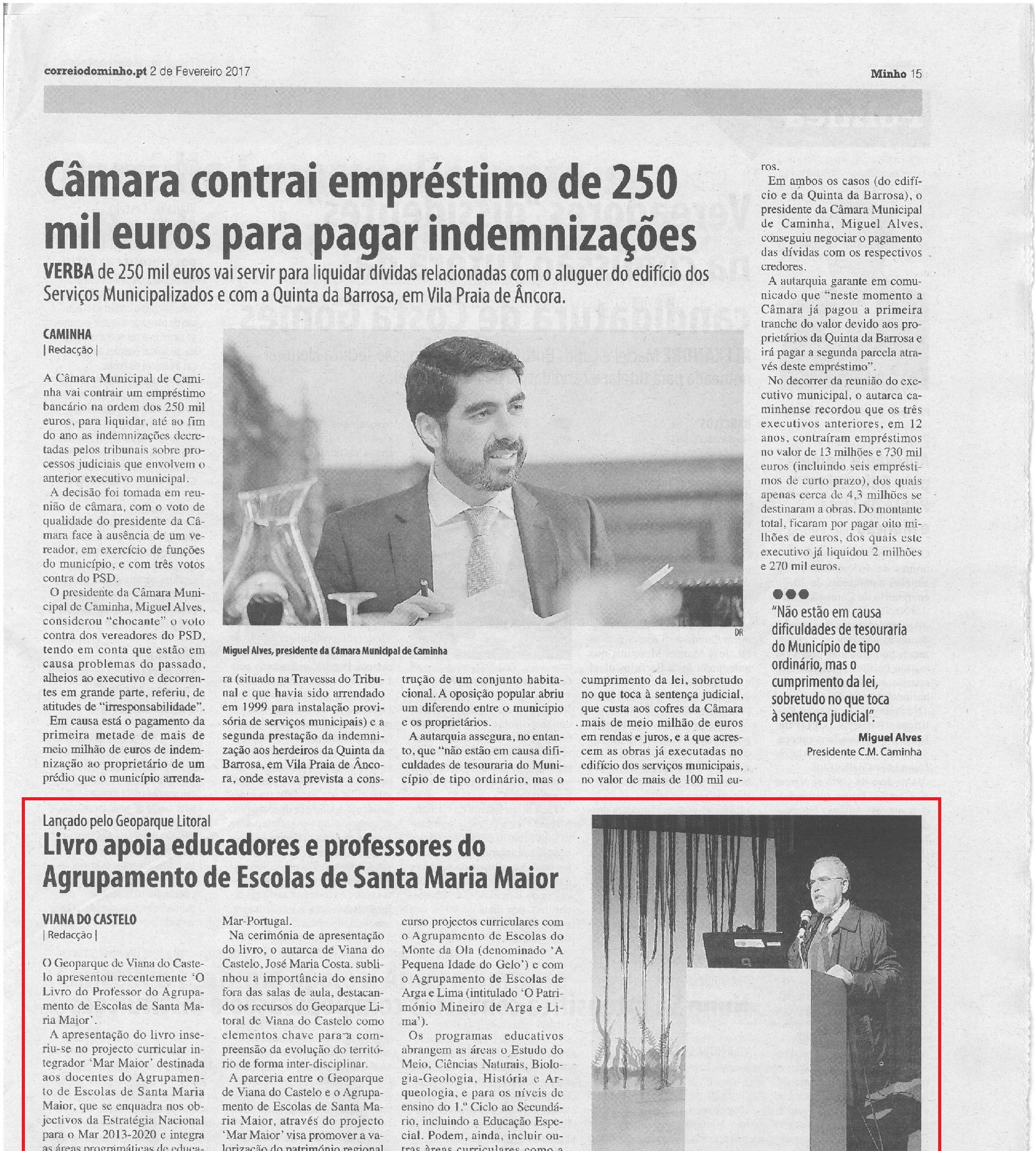 Livro apoia educadores e professores do Agrupamento de Escolas de Santa Maria Maior