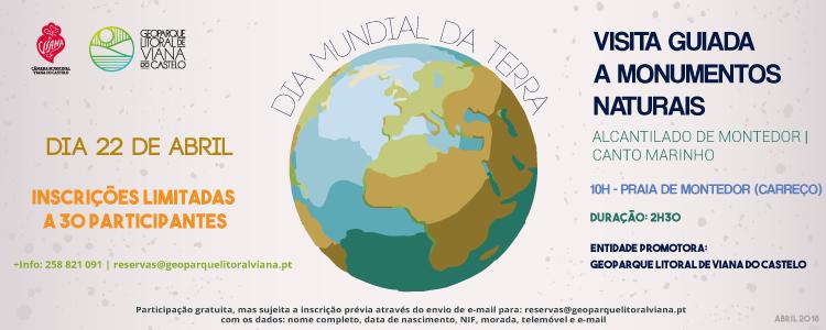 Comemoração do Dia Mundial da Terra: Próximo domingo há visita guiada aos Monumentos Naturais