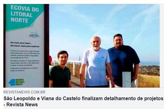 São Leopoldo e Viana do Castelo finalizam detalhamento de projetos