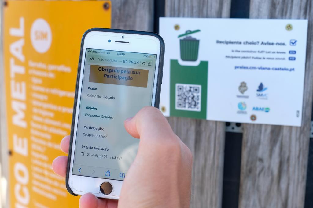 Câmara Municipal e Serviços Municipalizados lançam plataforma de monitorização partilhada com munícipes dos equipamentos de recolha de resíduos e estado de limpeza de sanitários balneares