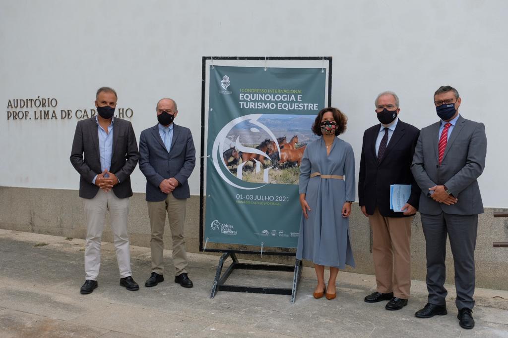 Secretária de Estado do Turismo na abertura do I Congresso Internacional de Equinologia e Turismo Equestre
